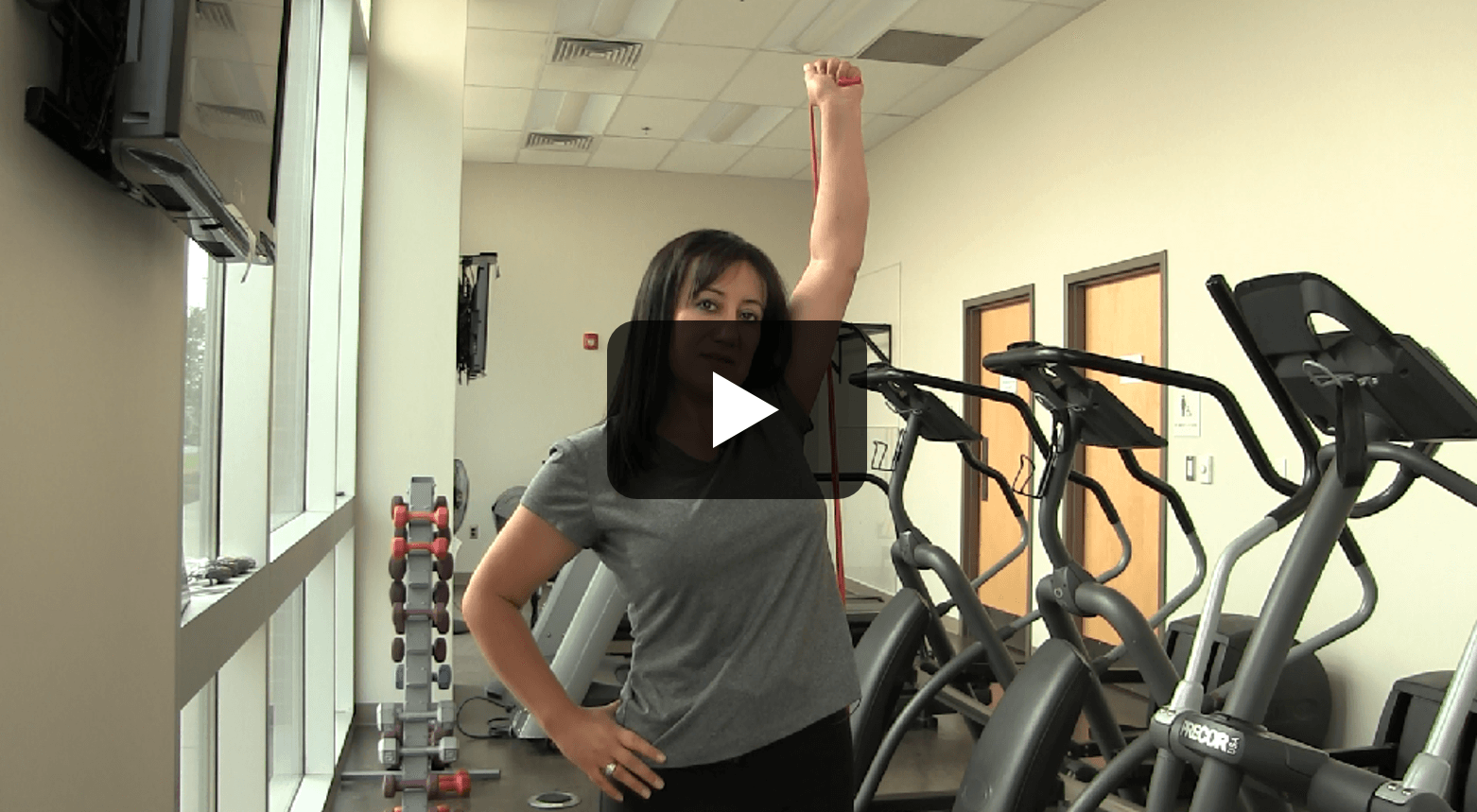 ST - Shoulder Press Play Button