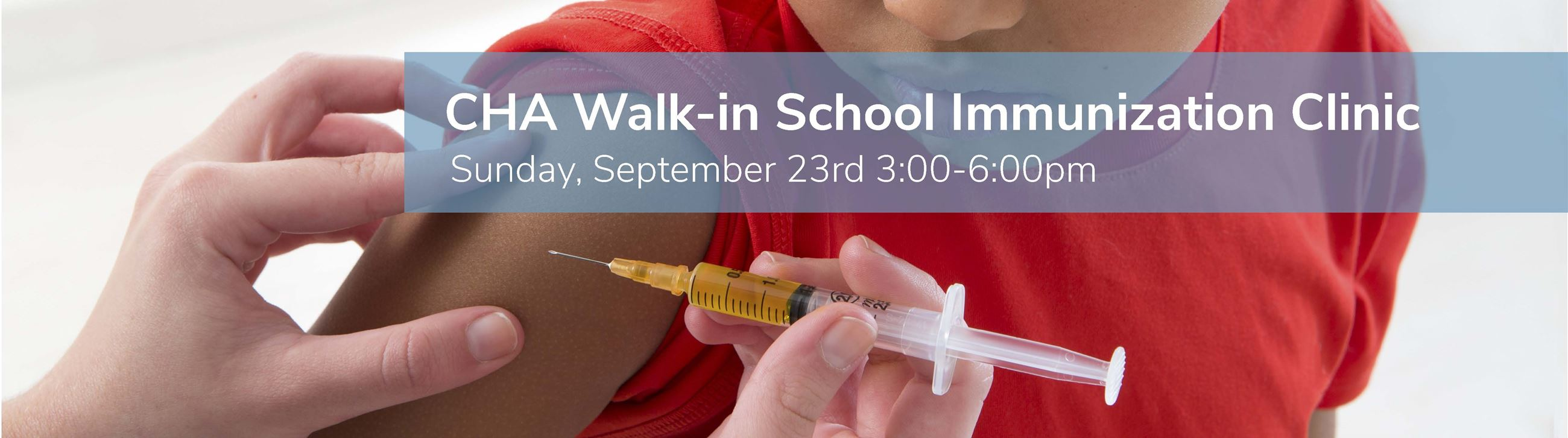2018 School Immunization Clinic